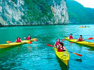 Kayak en Ha Long