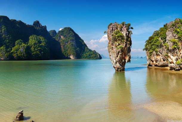 Isla James Bond Tailandia